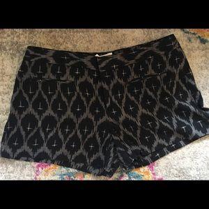 GAP Aztec print cotton shorts size 8